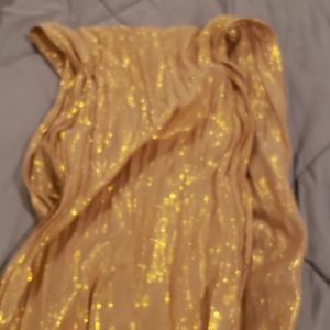 Solid Gold Wrap/Scarf